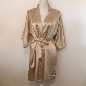 Other - Champagne colored robe